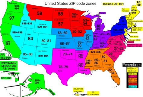 us area code map 2017 us postal map by zip code zip code zones thempfa org