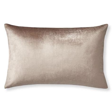 velvet pillow cover blush williams sonoma