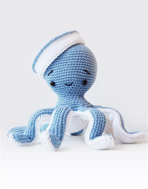 amigurumi octopus sailor octopus amigurumi pattern pepika amigurumis
