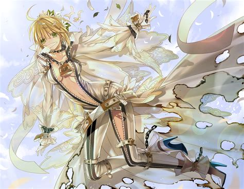 Pvc Anime Fate Stay Fate Ccc Saber Dress Ver wallpaper of the week saber 2 randomness thing