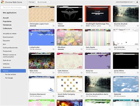 themes in chrome store a la recherche de th 232 mes google chrome c est par ici