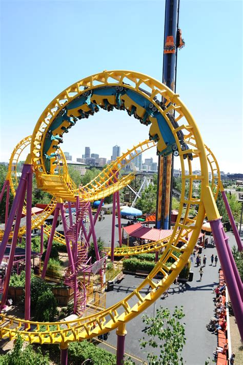 the roller coaster at flambards theme park near helston denver thrill rides amusement parks visit denver