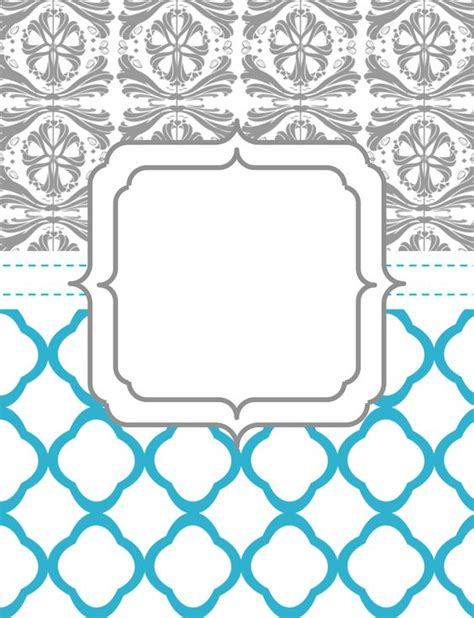templates for cover pages for binders binder cover printables pinterest printable binder
