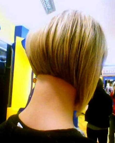 front and back view of blunt hairstyles zero degree undercut short blunt bob haircut 2016 styles 7