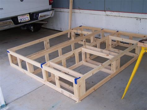 Building A Bed Frame Woodwork Platform Bed Frame With Drawers Plans Pdf Plans