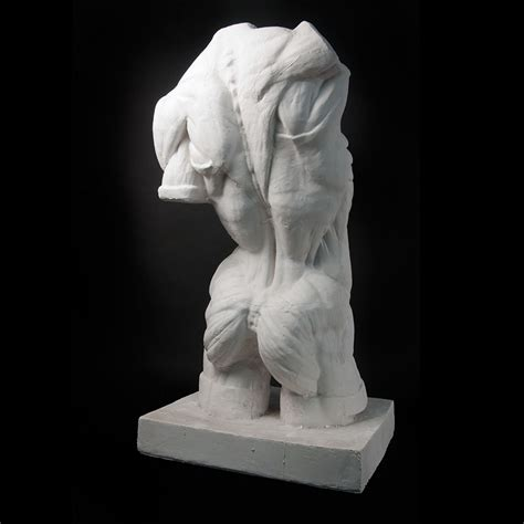 figure casts drawing plaster cast torso lifesize pigments