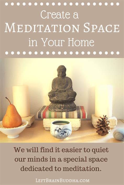 how to create more space in a small bedroom create a meditation space in your home left brain buddha