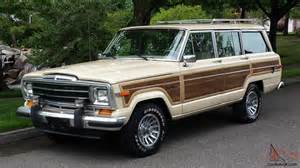 1989 Jeep Wagoneer Value 1989 Jeep Grand Wagoneer Base Sport Utility 4 Door 5 9l