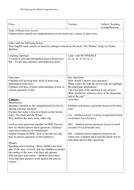 English Reading Comprehension Activity The Snail and the