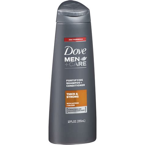 mens dept hair products dove care shoo fortifying