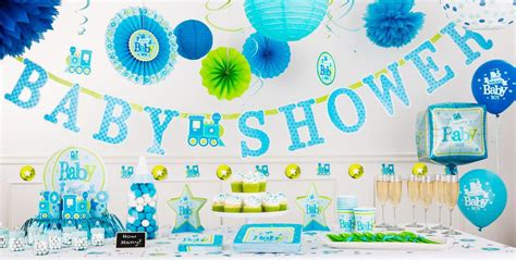 City Baby Shower Supplies by Welcome Baby Boy Baby Shower Decorations City
