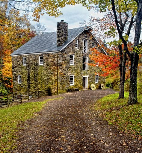 Dutch Colonial Homes old mill chester new jersey photograph by dave mills