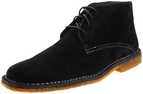 johnston and murphy mens boots johnston murphy mens runnell lace up boot in black for
