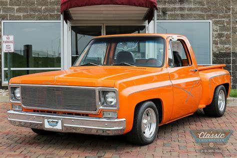 Size 2 Car Garage by Tangelo Orange Pearl 1978 Chevrolet C10 For Sale Mcg