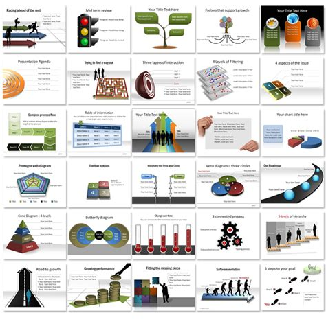 presentation diagrams beautiful editable diagrams in