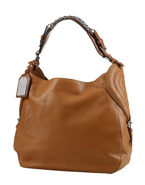 Dkny Equestrian Hobo by By Ralph Equestrian Nappa Hobo Bag With