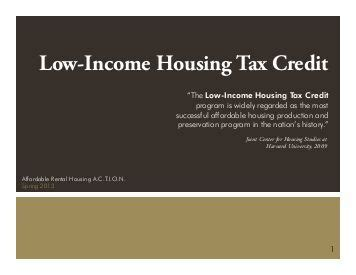 tax credit housing updating the low income housing tax credit lihtc abt
