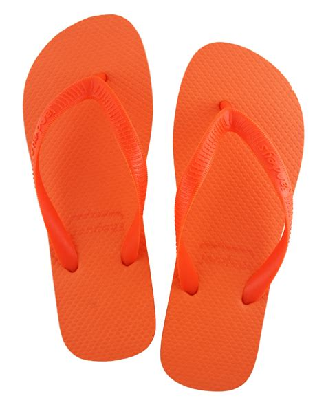 Home Network Design Nz solid orange roughy jandals flip flops thongs