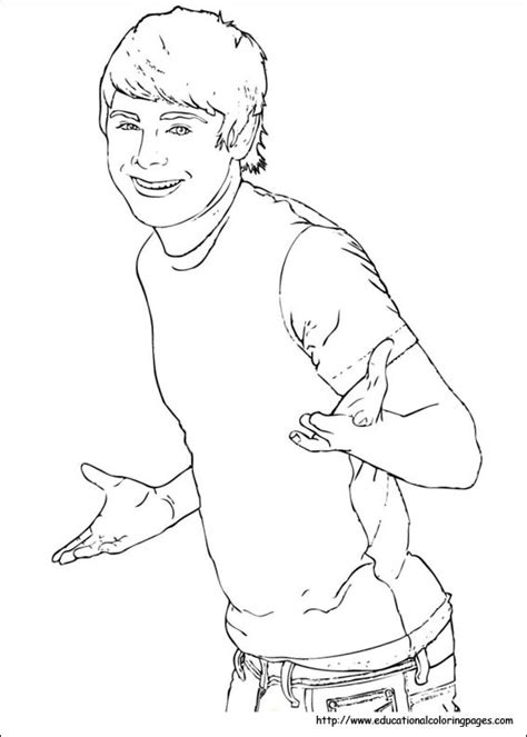 coloring pages of high school musical 3 the amazing high school musical coloring pages to really