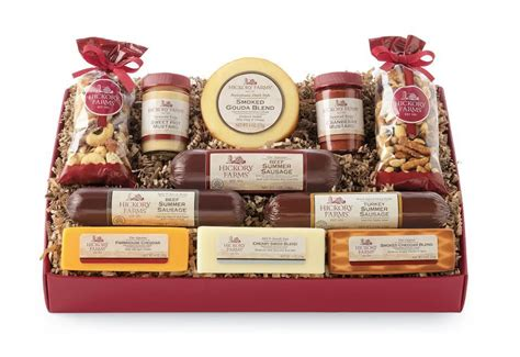hickory farms gift basket gift ideas and a giveaway