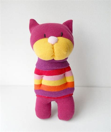 sock cat best 25 plush animals ideas on baby boy toys nursery and stuffed animals