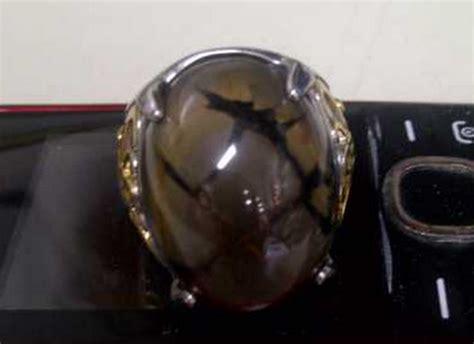 Batu Akik Ati Ayam Motif 3 Warna batu sisik naga khas enrekang gemstone batu akik mulia