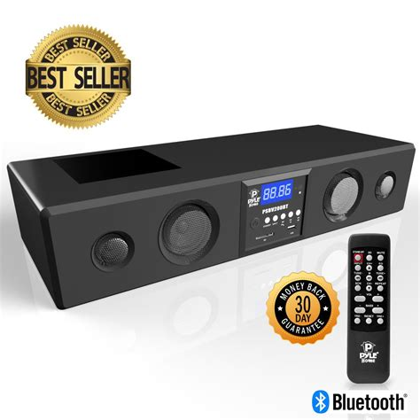 Speaker Bluetooth Bose Lcd With Usb Tft Card Fm Radio pylehome psbv200bt home and office soundbars home