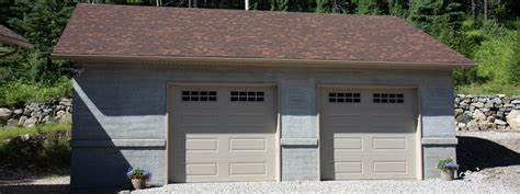 Garage Montreal by Renovation And Construction Of Garage 2 Doors In Montreal