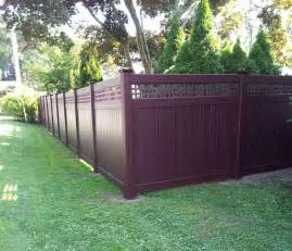 vinyl fence colors vinyl fencing colors home remodeling and renovation ideas