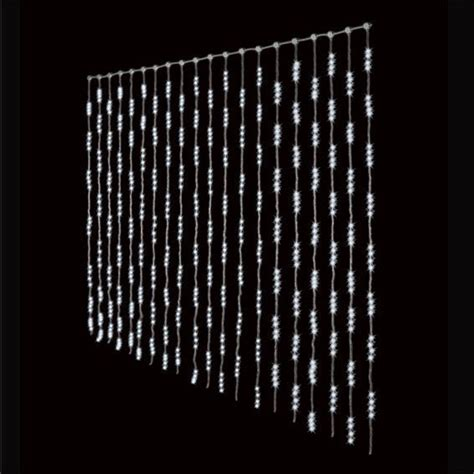 Rideaux Lumineux Noel by Rideau Lumineux H3 M Blanc Froid 1280 Led Guirlande