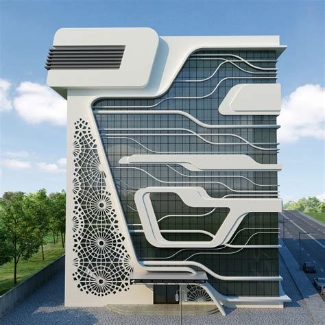 architecture design company qazvin gas company office building iran 3 e architect