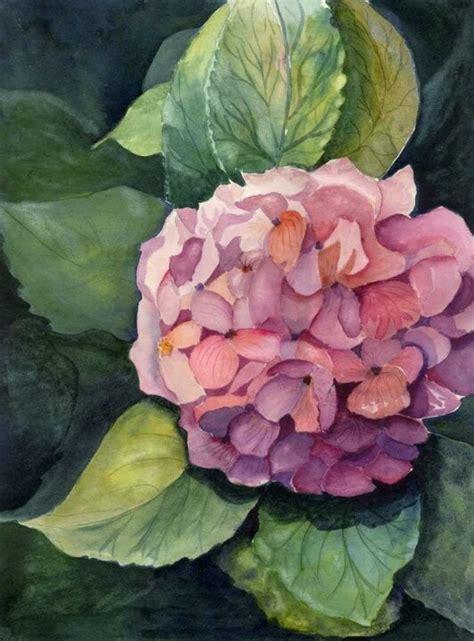 watercolor hydrangea tutorial 265 best images about watercolor hydrangeas on pinterest