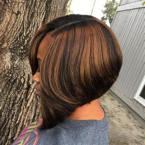 angled bob hair style fors black women 60 showiest bob haircuts for black women