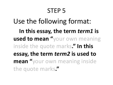 define arrange research or proposal writing definition of terms