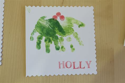 card handprint learning lessons in mummyography card