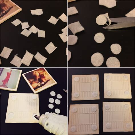 coasters diy diy tile photo coasters the how to duo