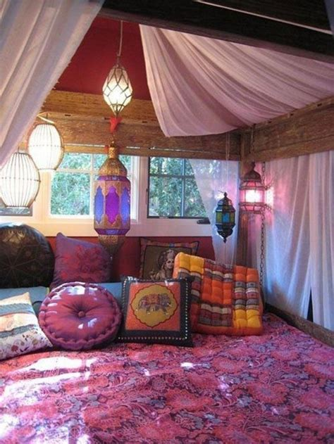 indische einrichtungsideen 70 bilder schlafzimmer ideen in boho chic stil