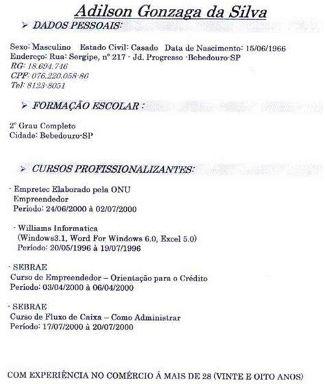 curriculum vitae simple modelo de curriculum vitae simple ejemplo 2 curriculum vitae modelo de curriculum vitae simples