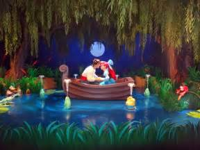 In under the sea journey of the little mermaid at magic kingdom park