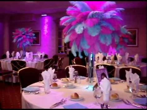aqua pink sweet 16 at the crest hollow country club