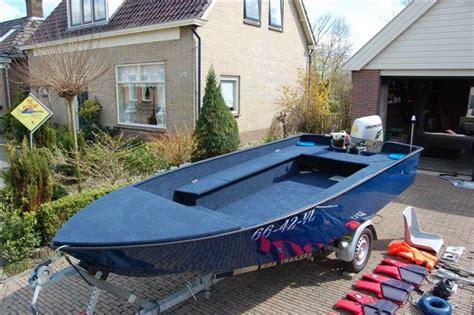 aluminium visboot te koop article visionair vis water sportvisserij nederland
