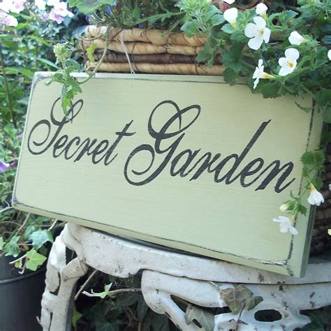 personalised cottage style house sign  potting shed