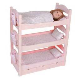 Our Generation Bunk Bed Bunk Beds Trundle Sleeps 4 18 Quot Dolls Our Generation American Mckenna Ebay
