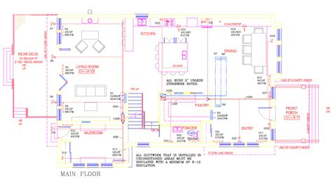 Home Hvac Duct Design Hvac Duct Layout Quotes