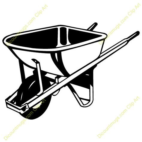 wheelbarrow clipart wheelbarrow clipart clipart panda free clipart images