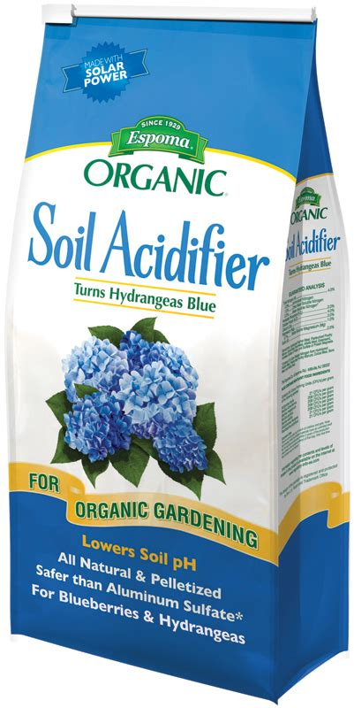 organic soil acidifier  lb bag indoor gardening supplies