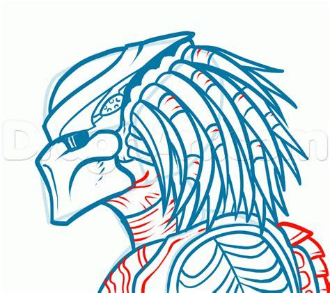 V Drawing Easy by How To Draw Vs Predator Step By Step Pop