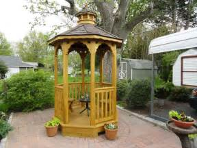 Small Gazebo With Netting by Step By Step Having A Small Backyard Gazebo