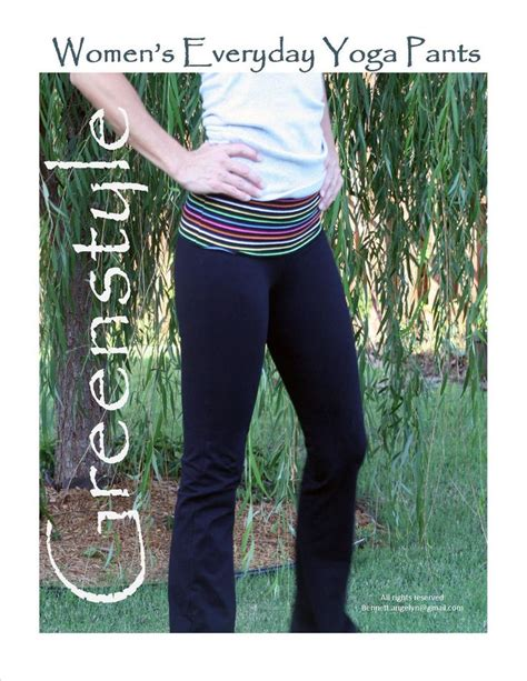 heritage pattern yoga pants 17 best images about activewear sewing patterns on