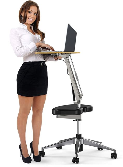 computer desk foot rest roomyroc standing desk with height adjustable footrest